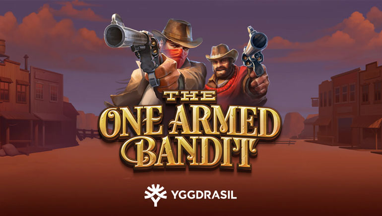 Players Get Locked & Loaded with Yggdrasil's The One Armed Bandit Slot