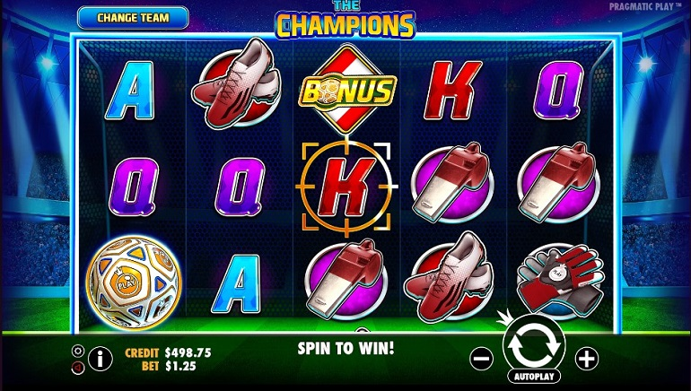 The Champions Slot is New to Pragmatic Play Casinos