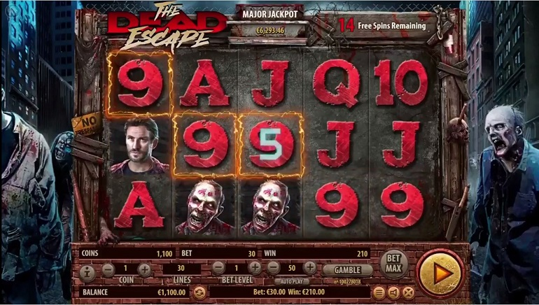 Playing the New Zombie-Themed Slot From Habanero, The Dead Escape
