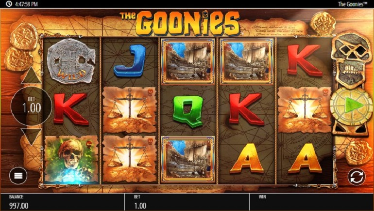 Hunt For Treasure With The Goonies and Blueprint Gaming