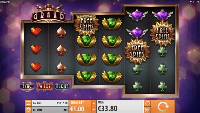 The Grand Slot Debuts at Quickspin Casinos