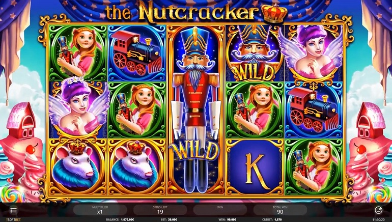 The Nutcracker Slot Debuts in Time for Christmas
