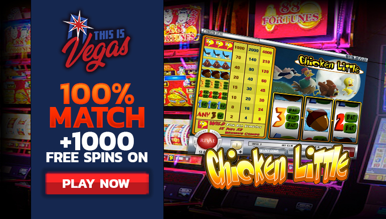 1,000 Free Spins Await at This is Vegas Casino