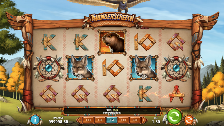 Play'n GO Outdoes Itself with Gorgeous Graphics in New Thunder Screech Slot