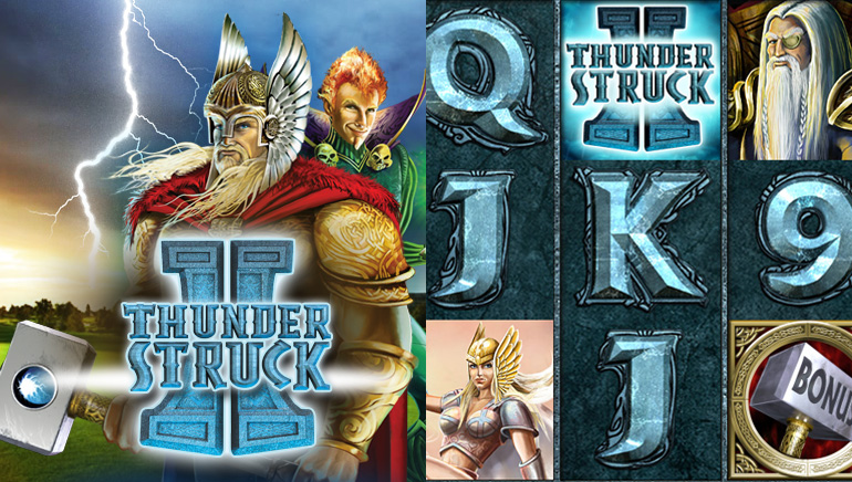 Game Feature: Thunderstruck II Still Packs a Punch