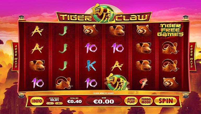 Slot Review: Tiger Claw by Playtech