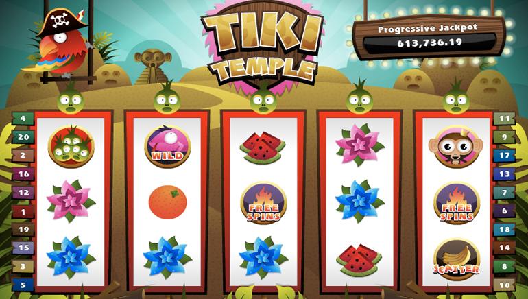 Tiki Temple 20p