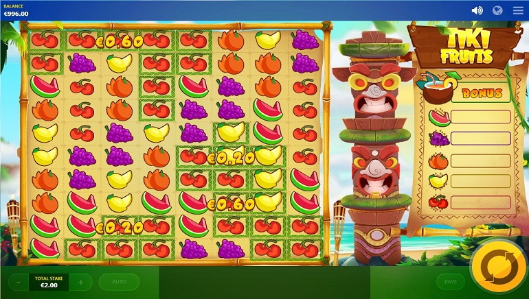 A Delicious Treat from Red Tiger Gaming: Tiki Fruits Slot
