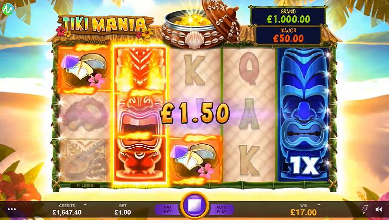 Tiki Mania Slot Arrives at Microgaming Casinos