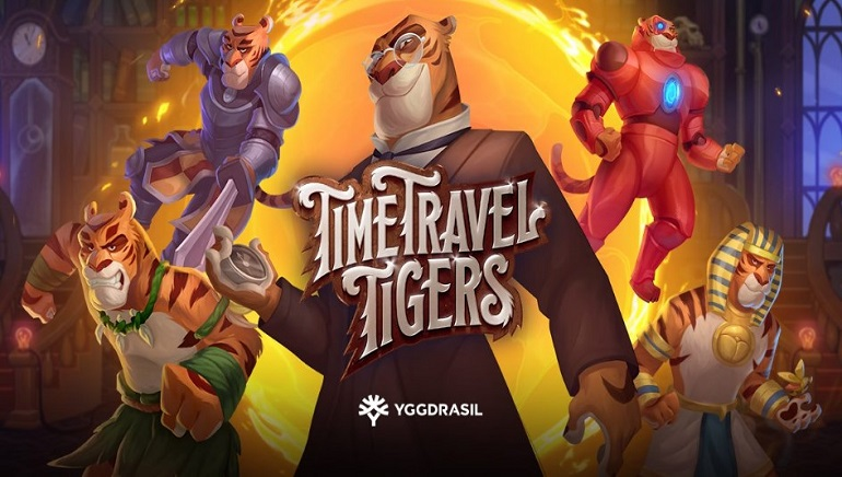 Time Travel Tigers Slot Launched by Yggdrasil Gaming