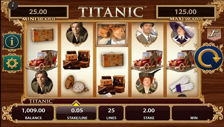 Titanic Video Slot Sets Sail this Spring