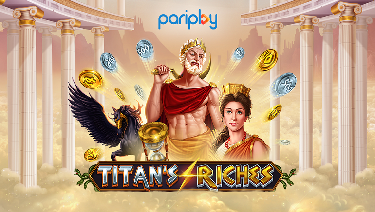 Pariplay Debuts Otherworldly New Slot Game: Titan's Riches!