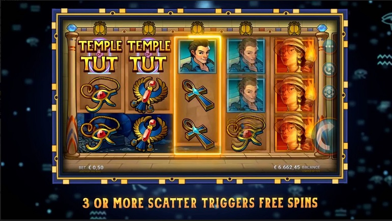 Microgaming Releases New Temple of Tut Slot