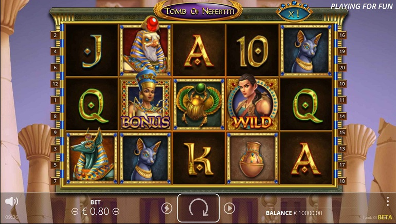 Nolimit City Delivers Feature-Rich Egyptian Slot in Tomb of Nefertiti