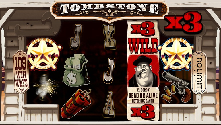 Nolimit City Goes Western in Tombstone Slot
