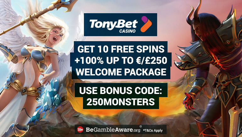 Much to Gain with TonyBet's Generous Welcome Package