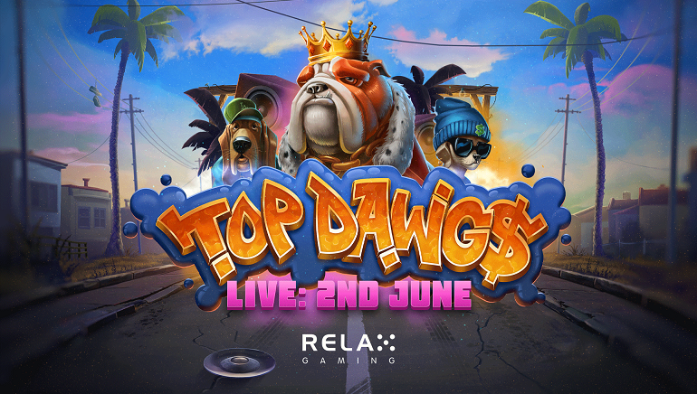 Relax Gaming Lets Top Dawg$ Slot Off the Leash
