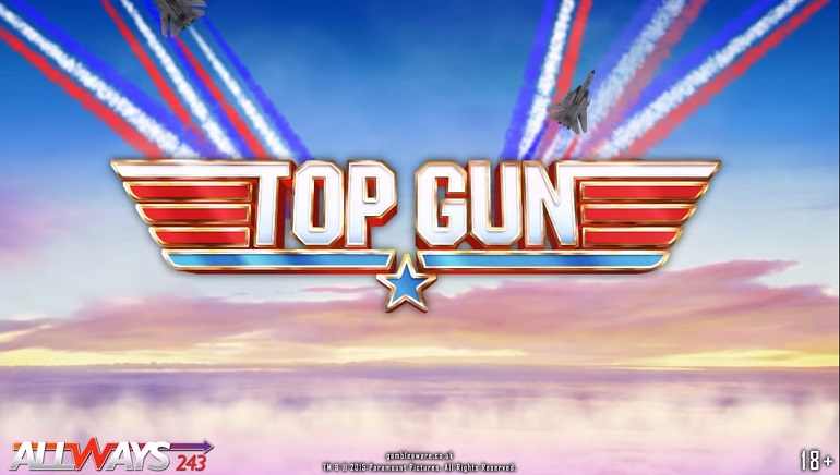 Playtech Takes to the 80s Skies with New Top Gun Slot Machine
