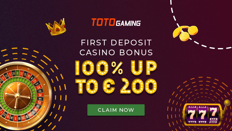 TotoGaming Casino Welcomes New Players With Up To €200 In Bonuses