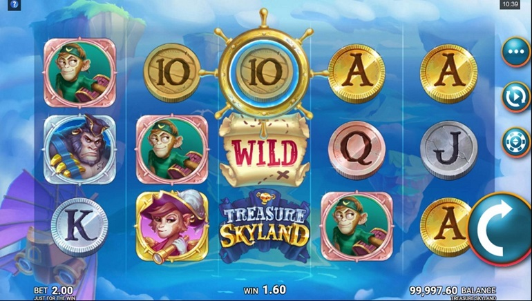 Slot Review: Treasure Skyland by Just For The Win