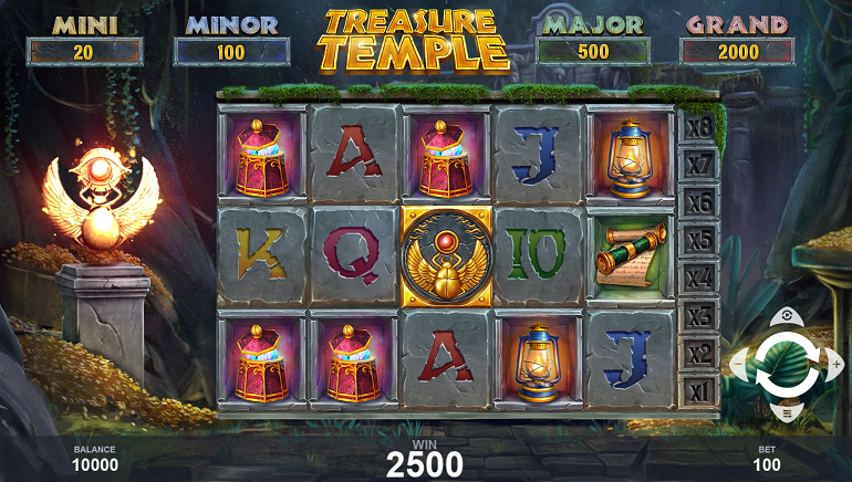 Join The Quest For Prizes In The New Treasure Temple Slot From Pariplay