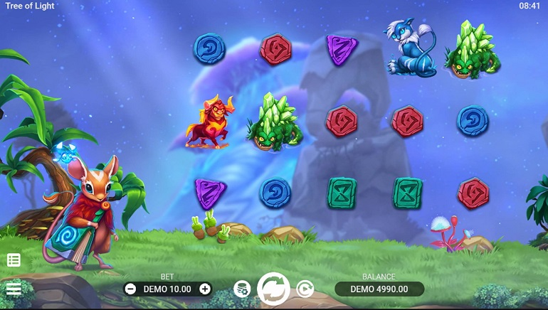 Enter An Enchanted Forest With New Tree of Light Slot From EvoPlay Entertainment