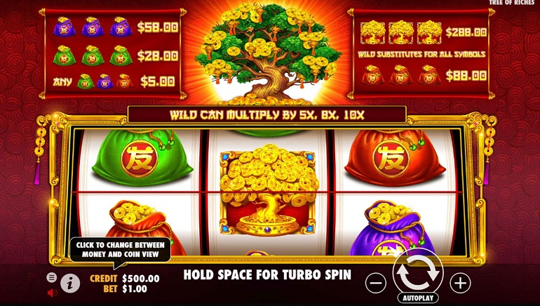 Pragmatic Play Goes Back To Basics With Tree Of Riches Slot