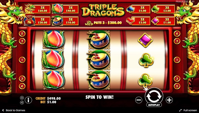 Unleash The Power Of The Triple Dragons In A New Pragmatic Play Slot
