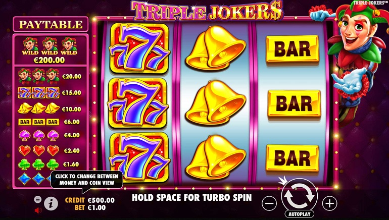 Go Wild with Pragmatic Play's Triple Jokers Slot