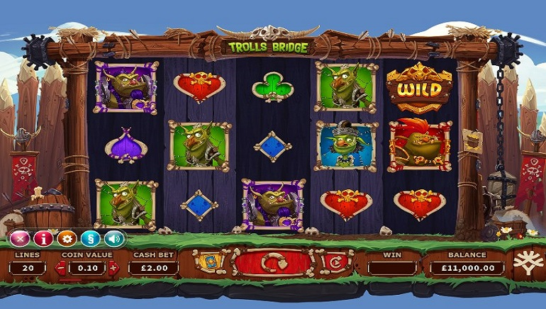 Trolls Bridge Slot From Yggdrasil Crosses Over To More Casinos