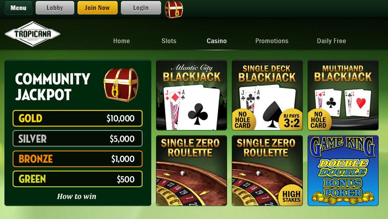 Tropicana casino license renewal problem gambling awareness training