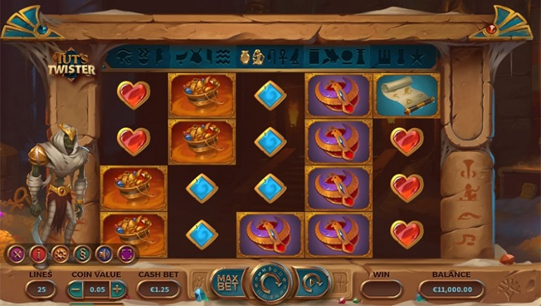 Yggdrasil Brings a Legend to Life in Whirlwind New Slot, Tut's Twister