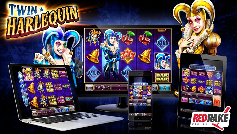 Double The Fun With The Twin Harlequin Slot From Red Rake Gaming