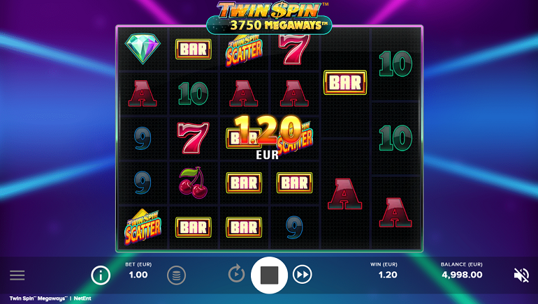 NetEnt Brings Out Twin Spin Megaways Slot