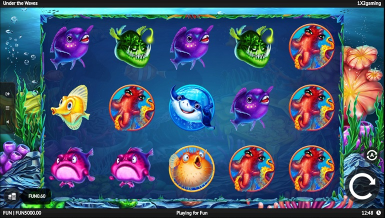 Slot Review: Under the Waves by 1x2 Gaming