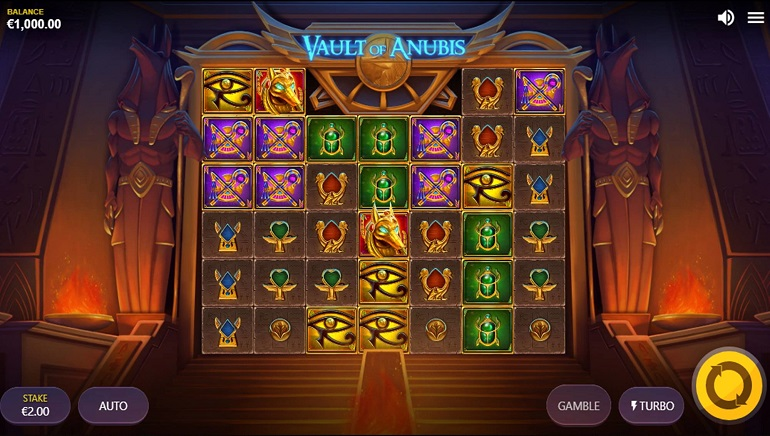 Red Tiger Gaming Takes Players to Ancient Egypt with Vault of Anubis
