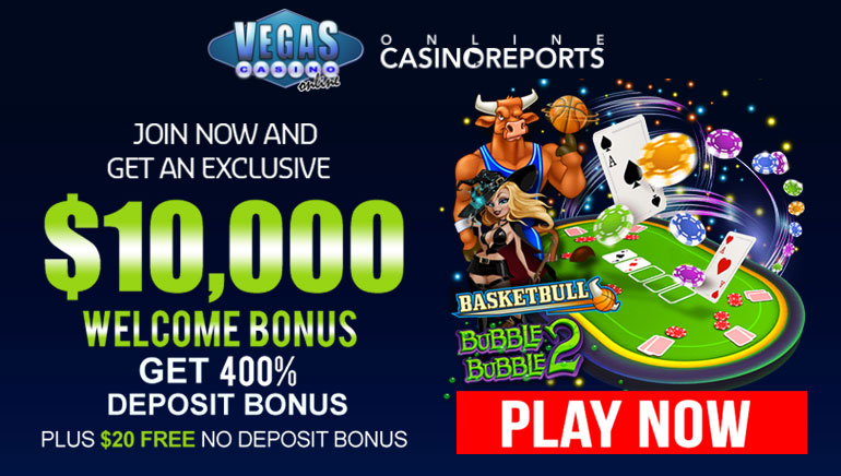 Vegas Casino Online Dishes Out Sizzling Hot $10K Welcome Bonus
