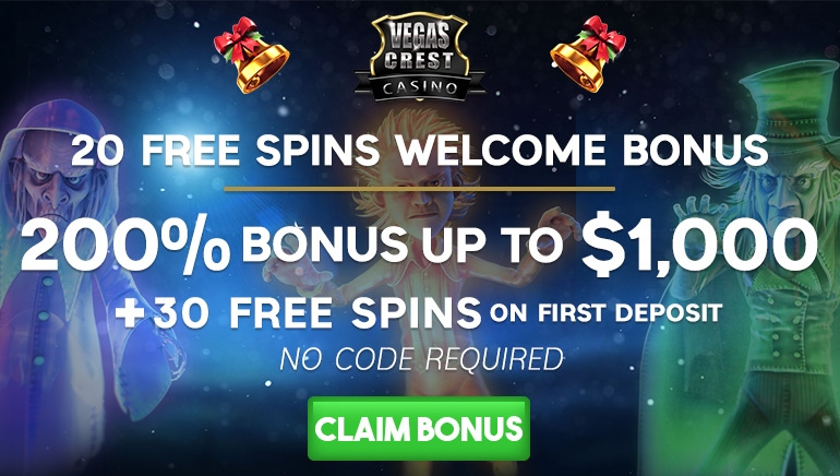 Special Free Spins And Bonus Deals At Vegas Crest Casino