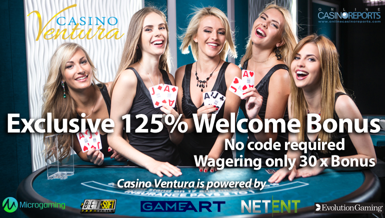 Start Big with an Exclusive Welcome Offer at the Awesome Casino Ventura
