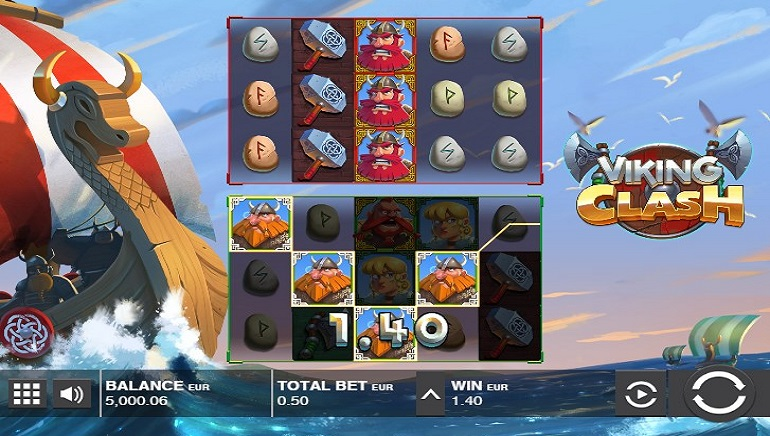 Push Gaming Introduces New Sea Adventure With Viking Clash Slot