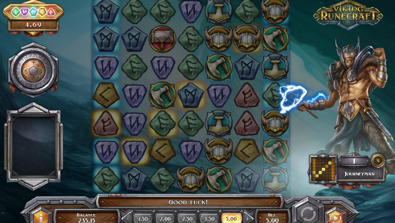 Join Brave Norse Warriors & Ancient Gods in New Viking Runecraft Slot by Play'n GO