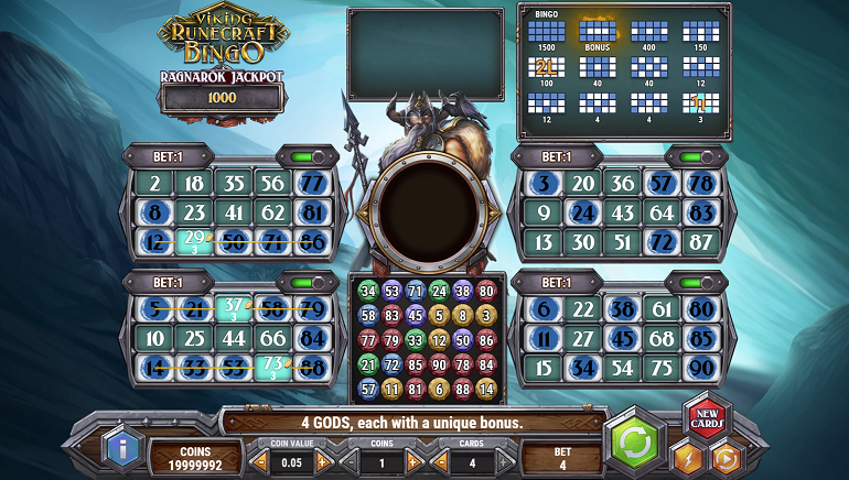 Get Ready to Rumble with Norse Gods in Play'n GO's Viking Runecraft Bingo