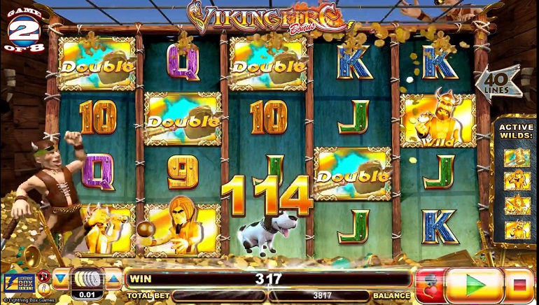 Viking Fire Slot Unleashed by Lightning Box Games
