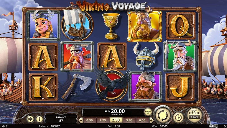 Prepare to Set Sail with Viking Voyage from Betsoft