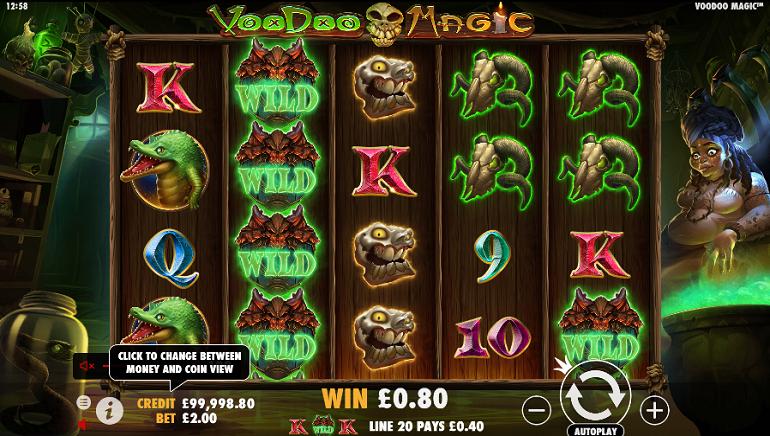 Pragmatic Play Conjures Up Spooky New Voodoo Magic Online Slot
