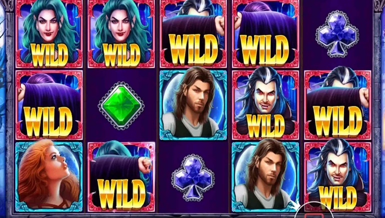 Do Battle in Vampires vs Werewolves Slot from Pragmatic Play