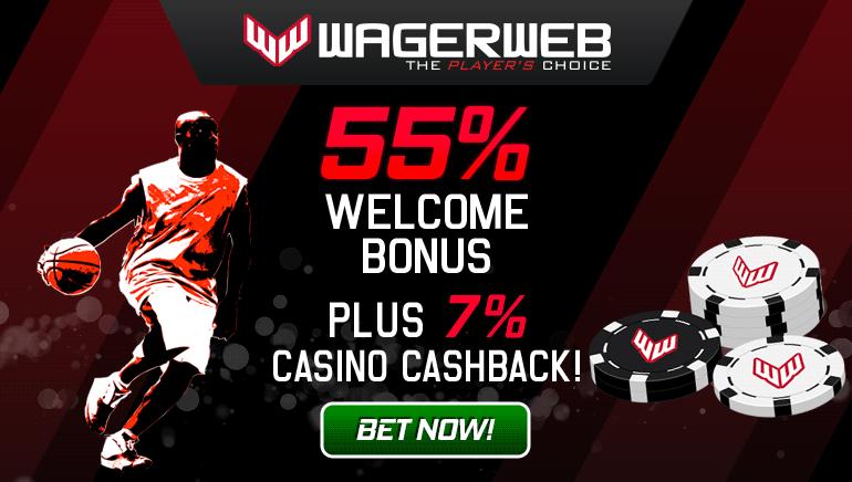 Enjoy a Hefty Welcome Bonus at WagerWeb