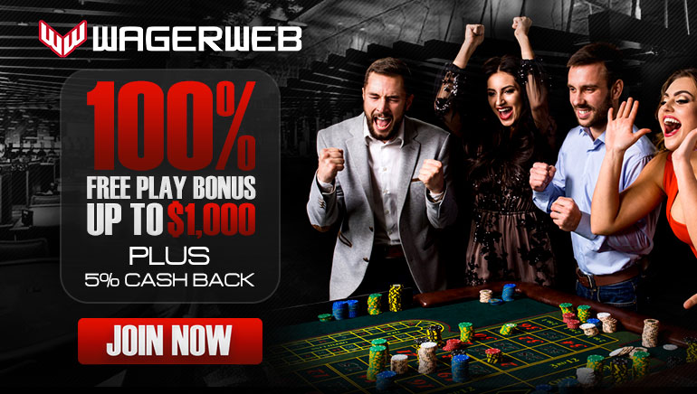 Wagerweb Casino Goes Full Throttle with Free Play Bonus up to $1K