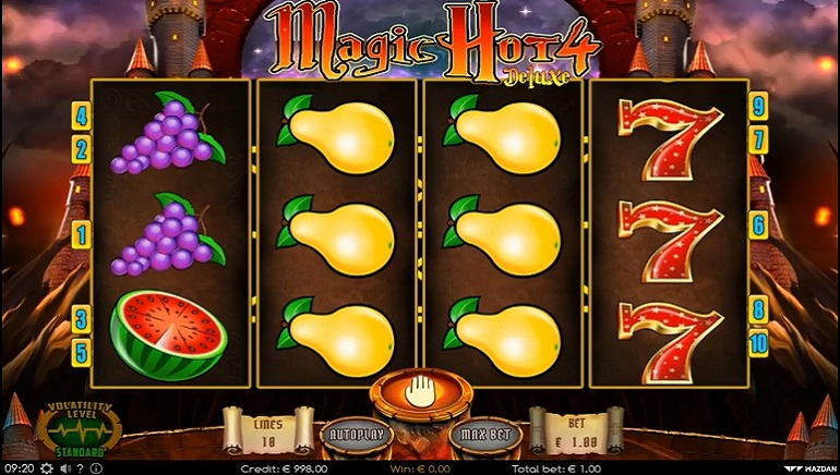 Wazdan Releases New Magic Hot 4 Deluxe Slot