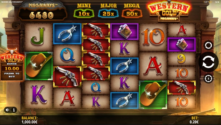 It's a Rootin' Tootin' Good Time with iSoftBet's Western Gold Megaways